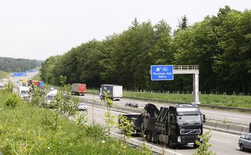 Mehr Lärm dringt von der A8 Richtung Wurmberg. Foto: Ketterl